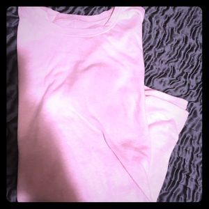 Light pink Hollister shirt